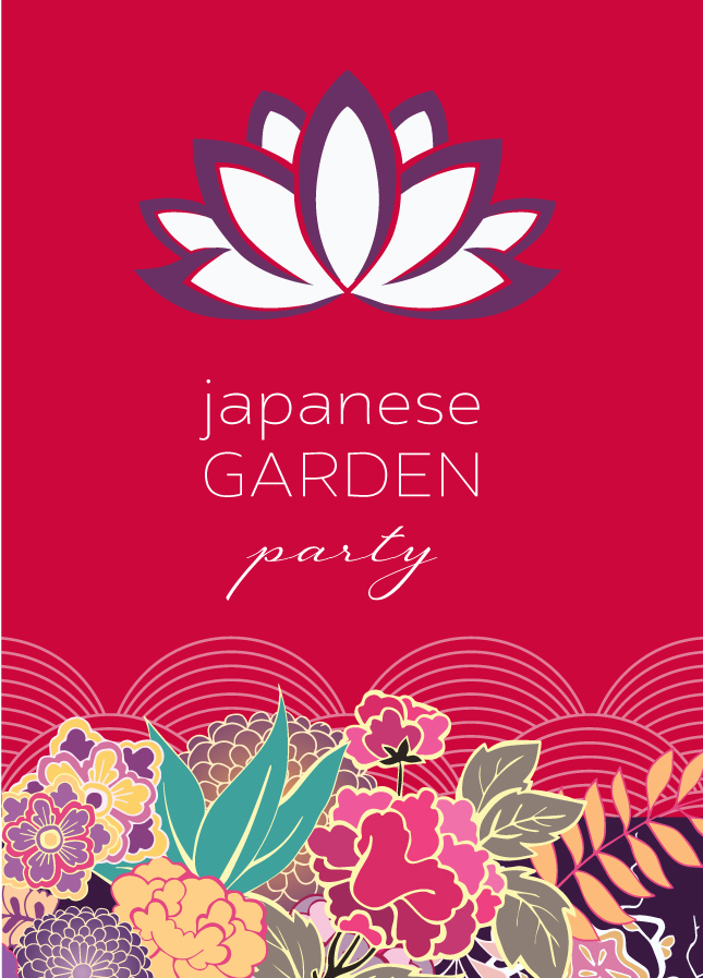 japanse garden party image